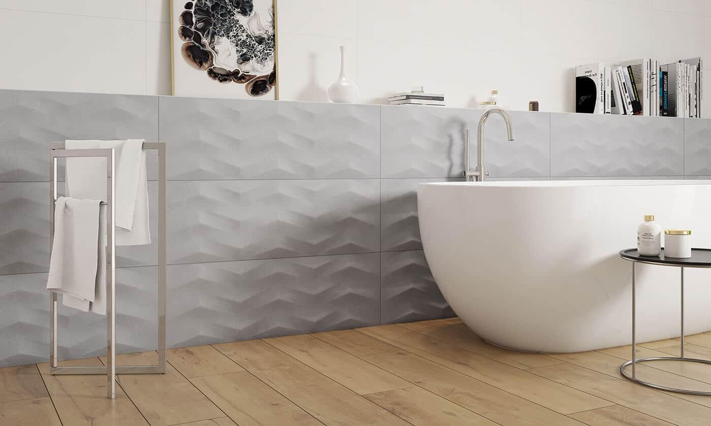 Płytki łazienkowe Tubądzin Paradyż łazienki Murlowscy